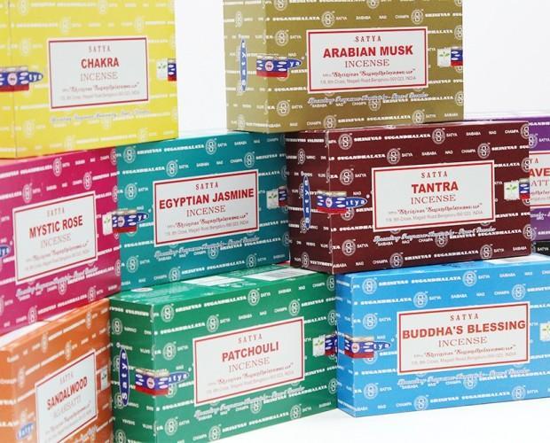 Inciensos.Variedad de aromas