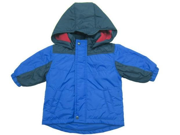 Abrigos Infantiles.Abrigo azul para niño