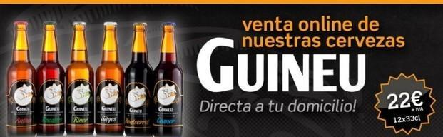 Cerveza Artesanal. Nuestra marca Guineu