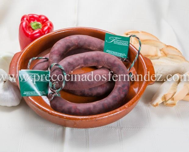 Morcilla Ibérica.Morcilla de cebolla,