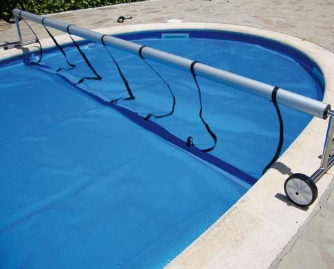 Enrollador. Enrolladores para cubiertas de piscina+mantas térmicas