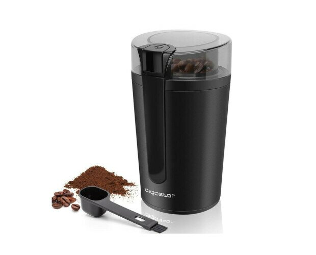 Aigostar Molinillo de Café. Motor de 200W para moler efecientemente