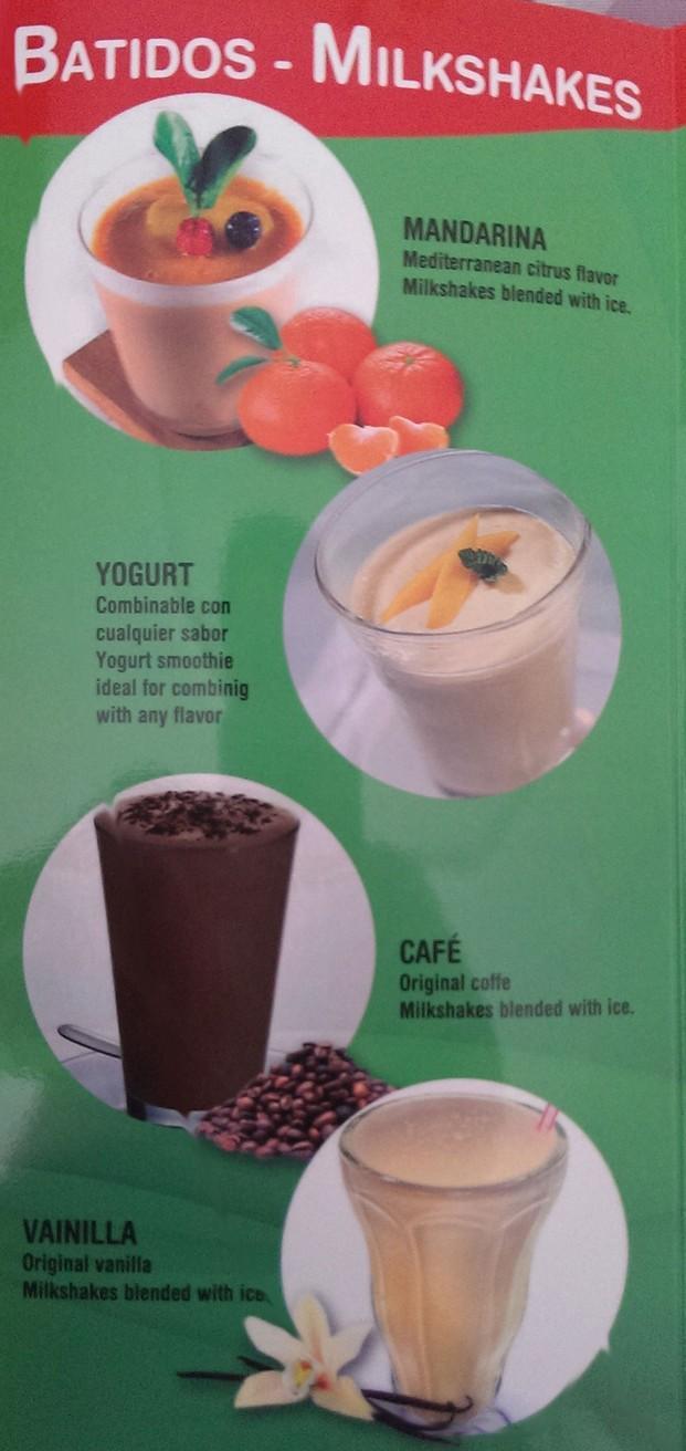 Batidos y Smoothies. 12 sabores de batidos y smoothies