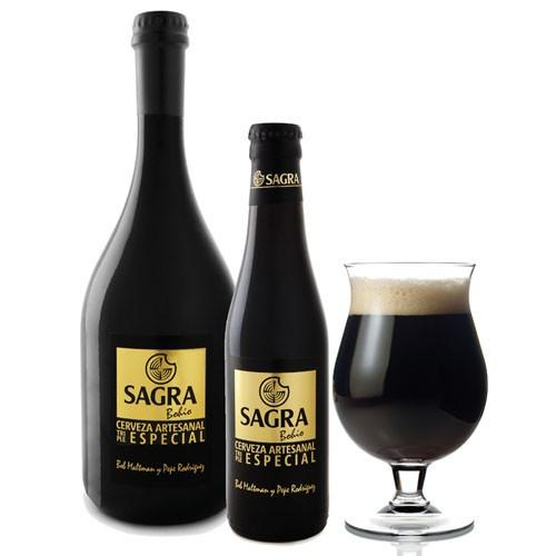 Sagra Negra. Cerveza castellana artesanal Sagra Bohío