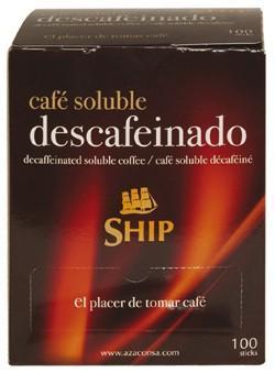 Café Soluble.Café soluble descafeinado