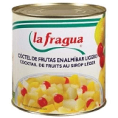 Conservas de Frutas.Piña, Melocotón, y cóctel 5 frutas