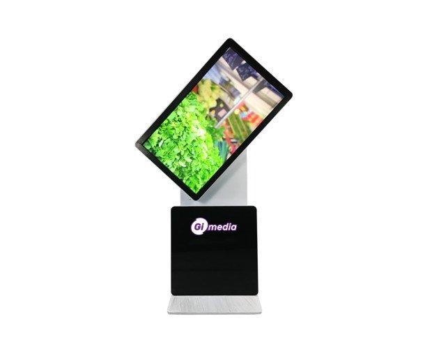 Totem Multimedia Rotativo. Toque: táctil IR / táctil capacitiva