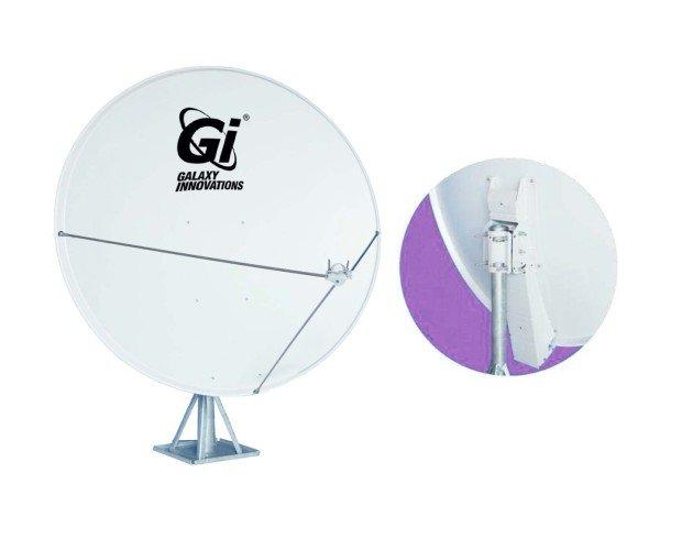 Antena Off-set 130cm D60 MRF. Distancia focal 800mm