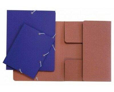 Carpetas de cartón. Carpetas de cartón 100% reciclado