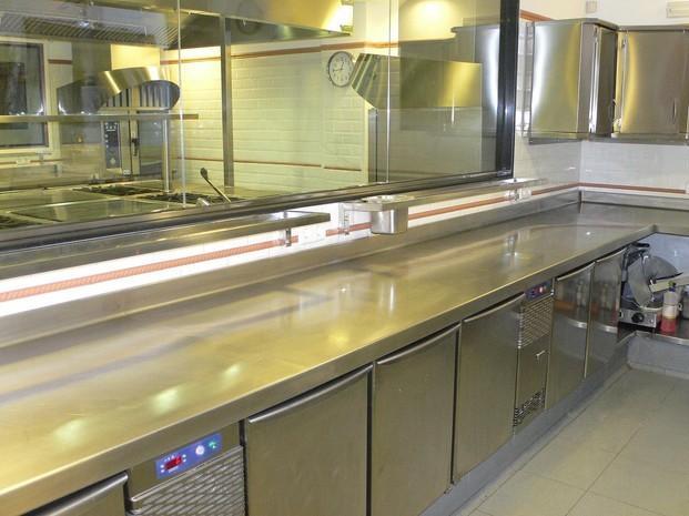 Instalaciones de equipamiento. Cocinas industriales