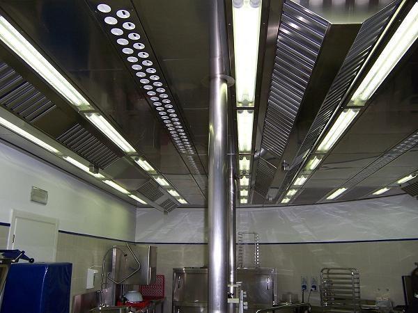 Sistemas de extracción de humos. Campanas extractoras a medida