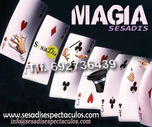 Agencias de Espectáculos.Espectáculos de magia