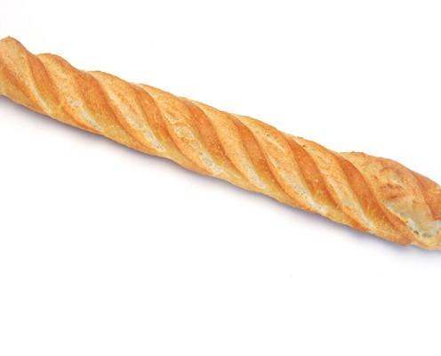 Barra grande. Barra de pan blanco grande
