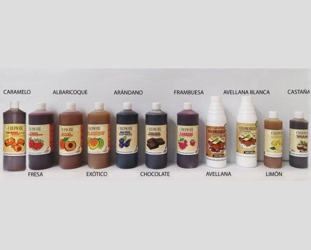 Diversidad de cremas. Catálogo de cremas