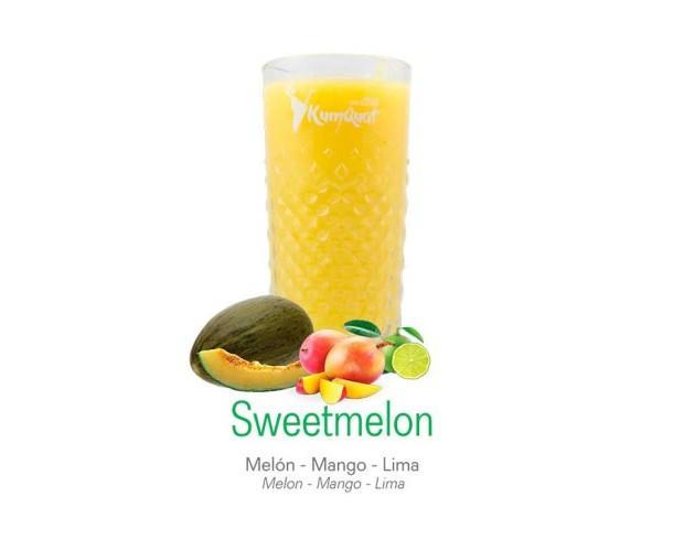 Sweetmelon. Melón, mango y lima