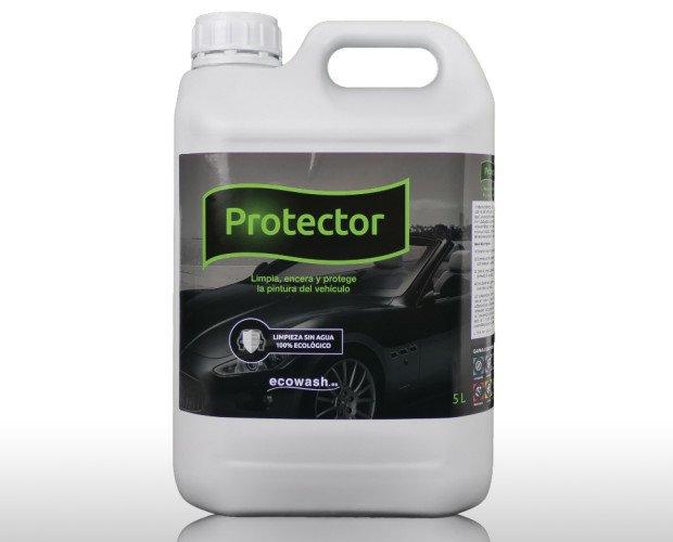 Protector Ecowash 5L. Producto para la limpieza exterior del vehículo. Limpia, encera y protege.