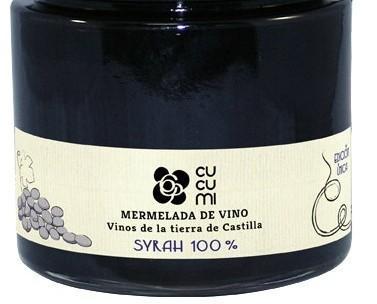 Dúlces y Mermeladas. Mermelada de Vino, de variedad monovarietal