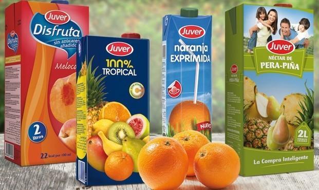 Zumos Naturales. Varios sabores, frutas premium.