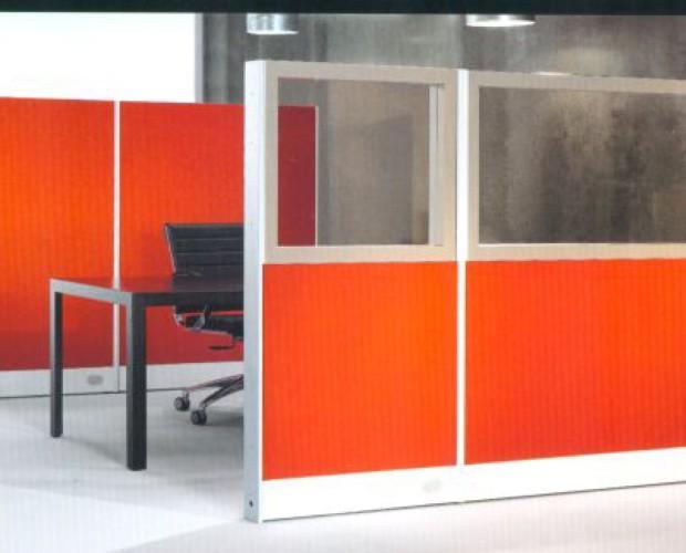 Biombos. Mejora la acústica en la oficina
