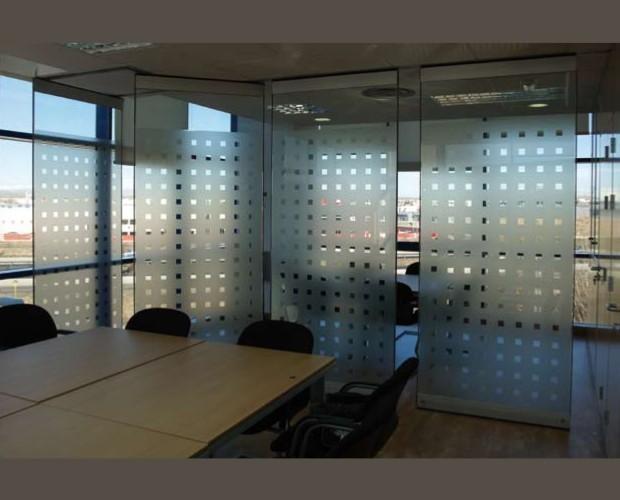 Tabique Movil Cristal. Módulos de vidrio independientes