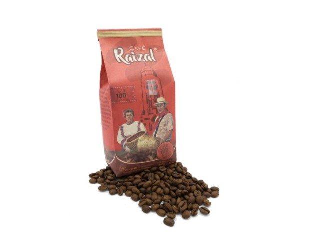 Café Colombiano en Granos. 340 gramos de nuestro café Raizal, con certificado de origen