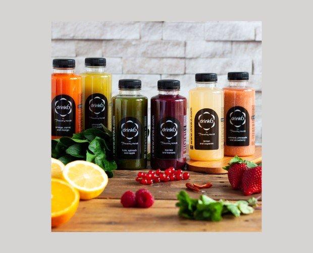 Zumos Drink6. Elaborados con frutas y verduras de primera