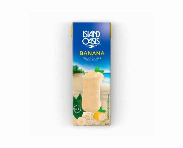 Banana. Fabricamos nuestra mezcla con plátanos maduros y un toque de azúcar real