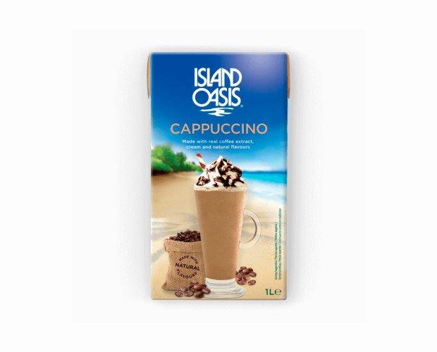 Cappuccino. Preparado con un café colombiano robusto y premium recién tostado