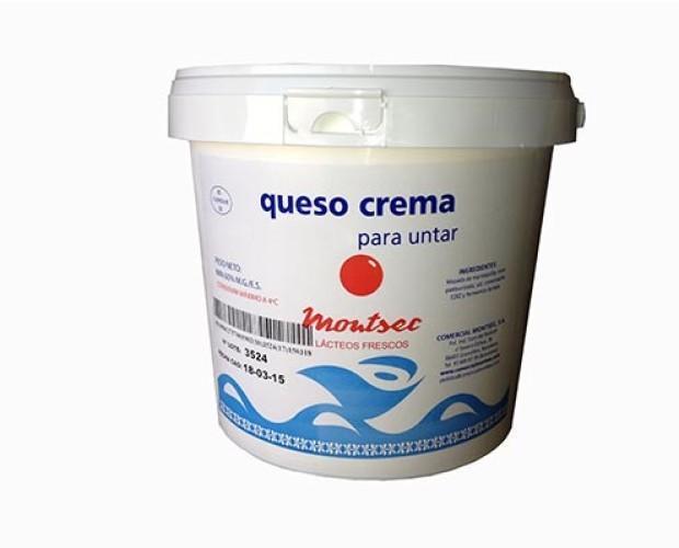 Queso crema 2K o 5K. Queso crema ideal para untar. Variedad de aplicaciones.