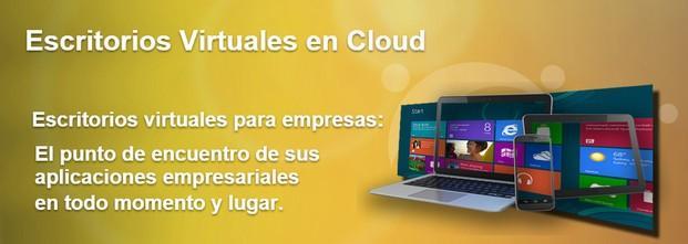 Escritorio virtual. Sus aplicaciones empresariales en todo momento y lugar.