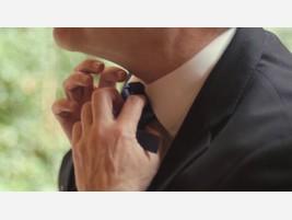Corbata desechable