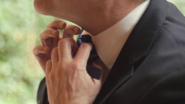 Corbata desechable. Colocarlo es sencillo y le ahorrará disgustos