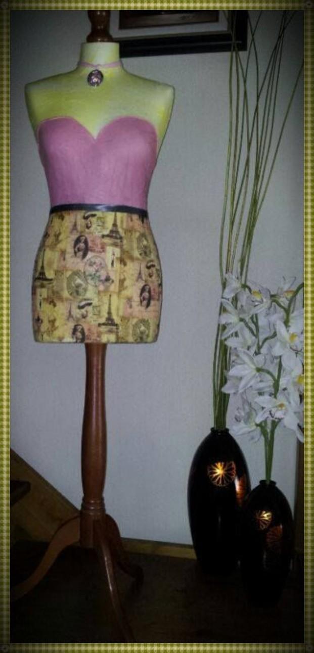 Maniquíes.Diseños tradicionales