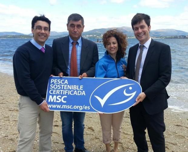 Eco etiqueta. Eco etiqueta azul de pesca sostenible del M.S.C.