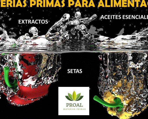 Cosmética y alimentación. Materias Primas Alimentación
