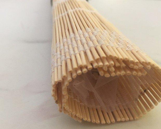 Embalaje de abanico. Bambú y cinta
