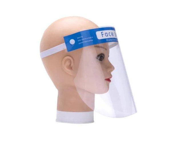 Escudos Faciales. Una gran combinación de plástico y esponja, resistente, duradera pero flexible