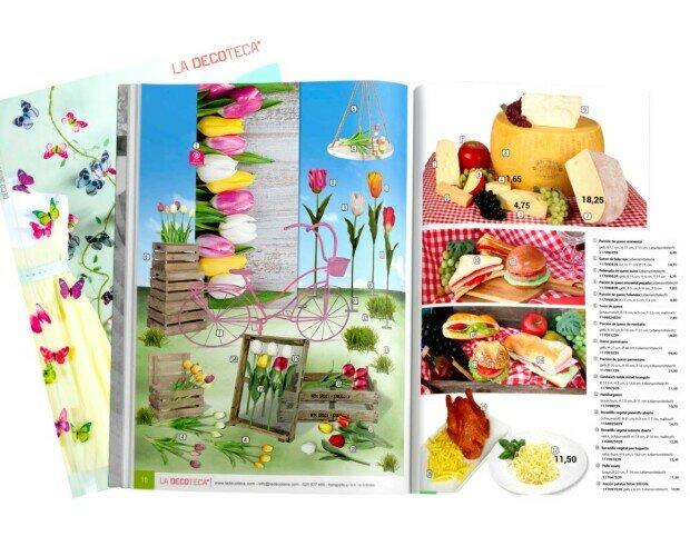 Catalogo decoracion escaparates. Catálogo decoración escaparates primavera-verano pascua y san Valentín 2021.