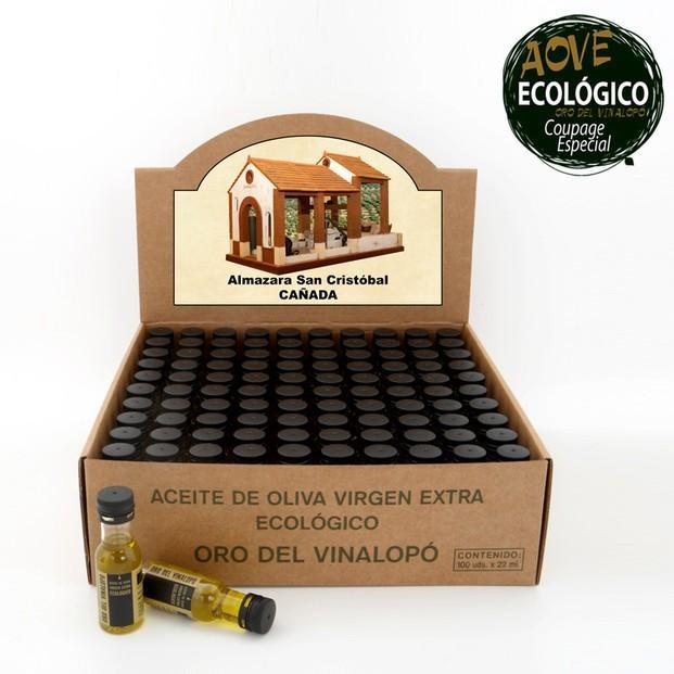 Aceite de Oliva Virgen Extra.Oro del Vinalopó monodosis hostelería
