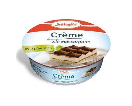Crema Mascarpone Vegetal. Crema Mascarpone 100% vegetal ligero y sabroso