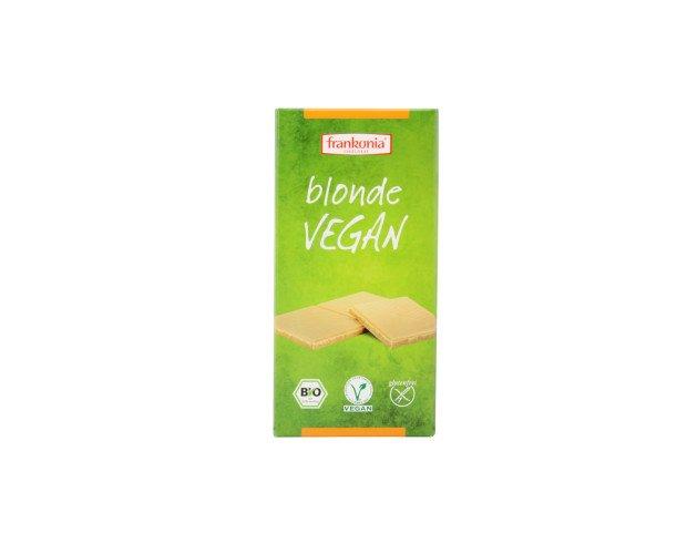 Chocolate Blanco Vegano. Chocolate Frankonia. Bio. Vegano. sin gluten