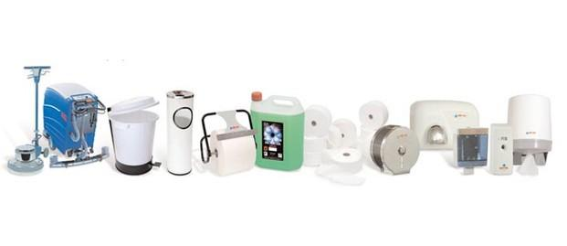 Artículos y productos de limpieza. Consumibles, equipos de limpieza