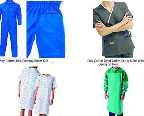 Fabricación de Ropa Laboral.Fabricamos todo tipo de uniformes.  Para hospitales tenemos batas, pantalones, etc.