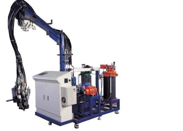 Maquinaria especial. Máquinas de inyección de poliuretano