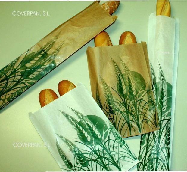 Bolsas de papel. Bolsas para pan