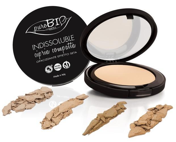 Polvos Compactos. Maquillaje Ecológico PuroBIO