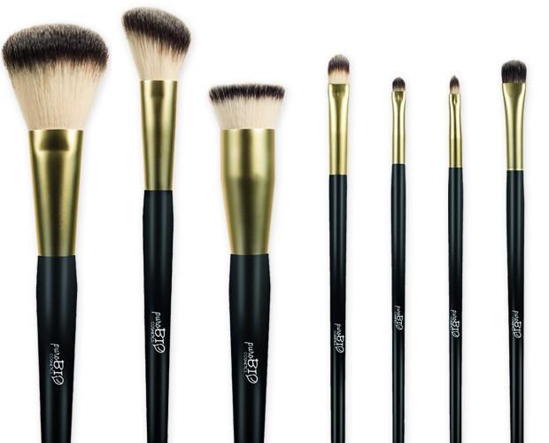 Utensilios de Maquillajes.Brochas y pinceles de hilado sintético