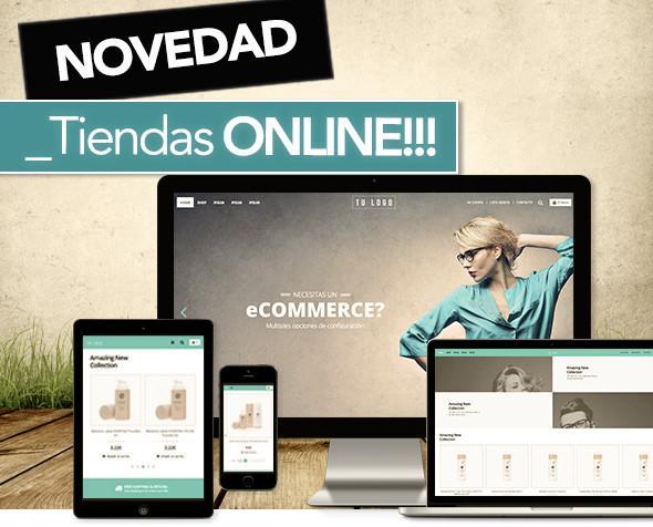 Tiendas online. Creamos tu tienda online