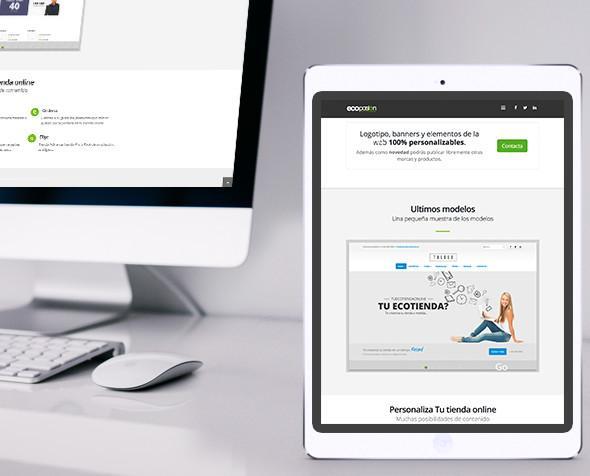 Tu tienda online 1. Hacemos tu tienda online personalizada...