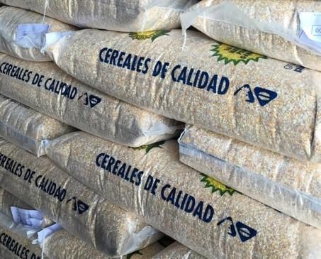 Cereales de calidad. Nuestros productos son de primera calidad.